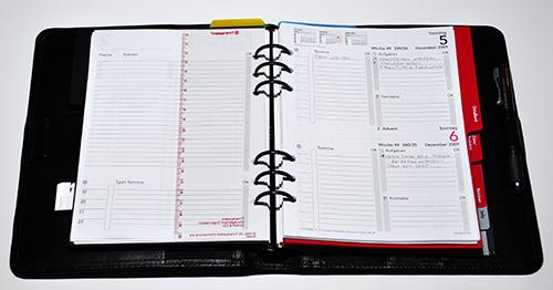 timesystem tagesplan 500 Zeitplanbuch